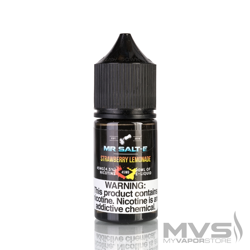 Strawberry Lemonade by Mr. Salt-E eJuice