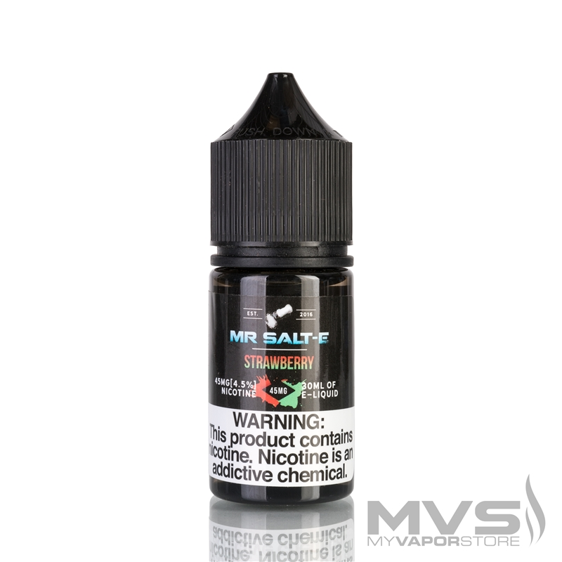 Strawberry by Mr. Salt-E eJuice