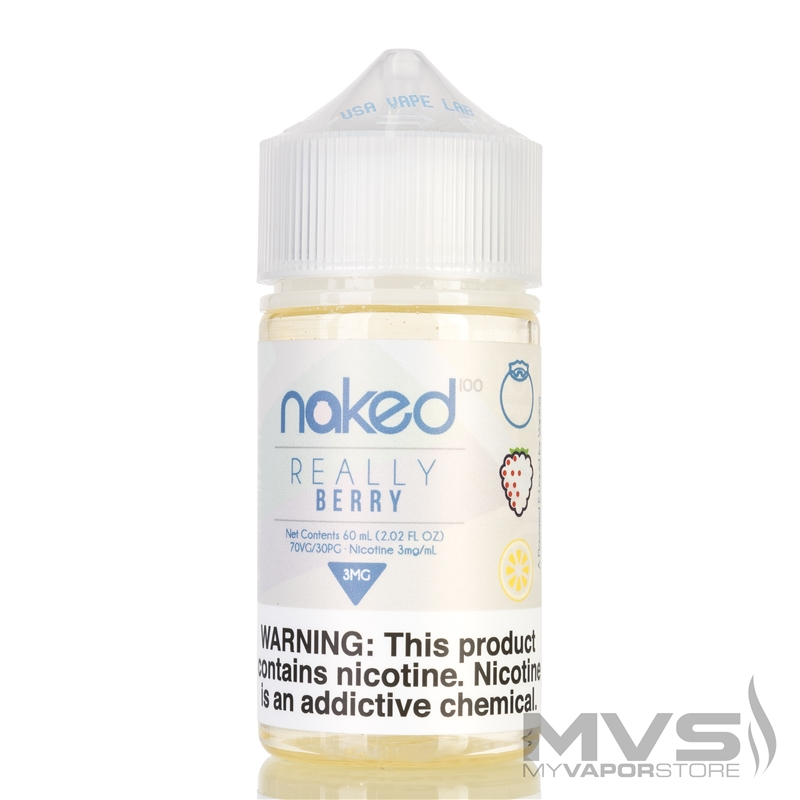 Really Berry by Naked 100 eJuice - 60ml