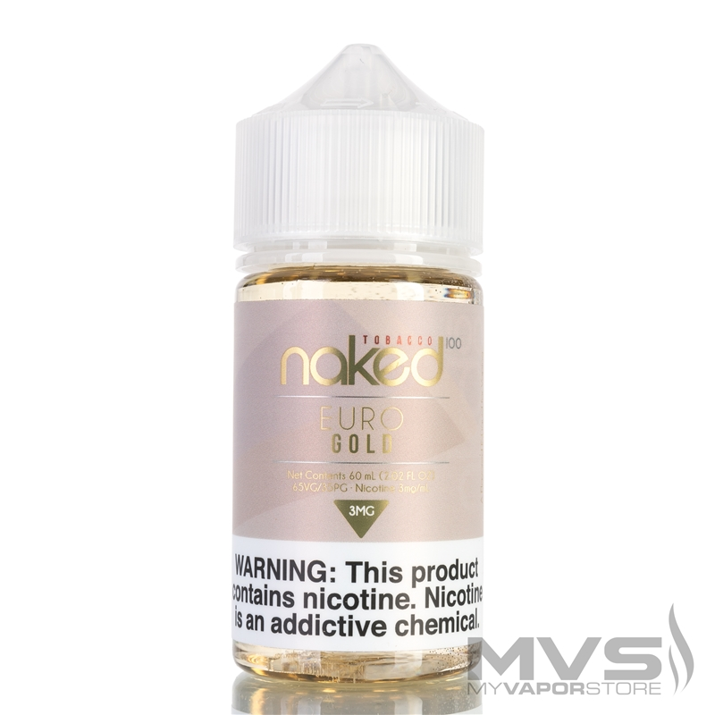Euro Gold by Naked 100 Tobacco eJuice - 60ml