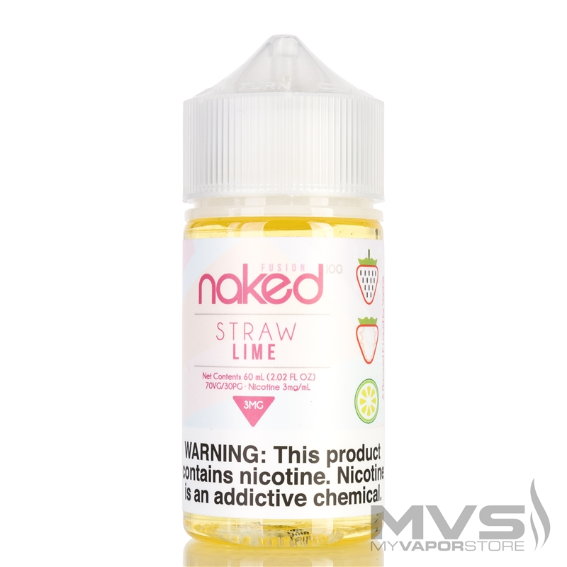 Straw Lime by Naked 100 eJuice - 60ml