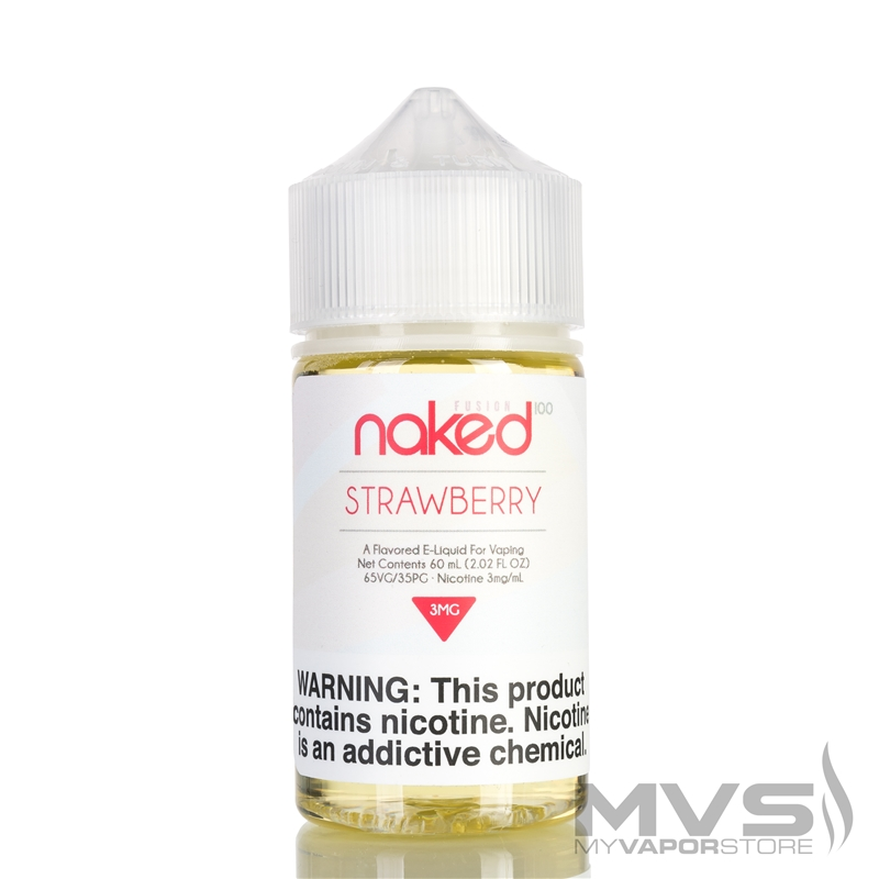 Triple Strawberry by Naked 100 eJuice - 60ml