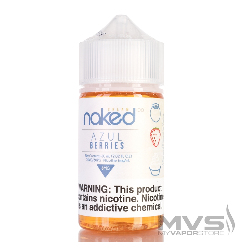 Azul Berries by Naked 100 eJuice - 60ml