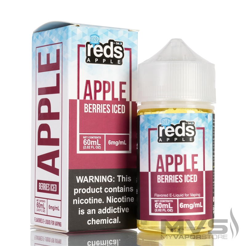 Iced Berries Reds Apple Ejuice by 7 Daze - 60ml