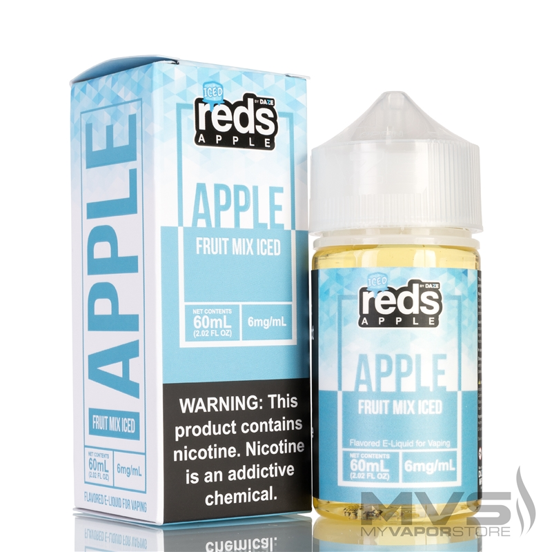 Reds Apple Fruit Mix Iced Ejuice by 7 Daze - 60ml