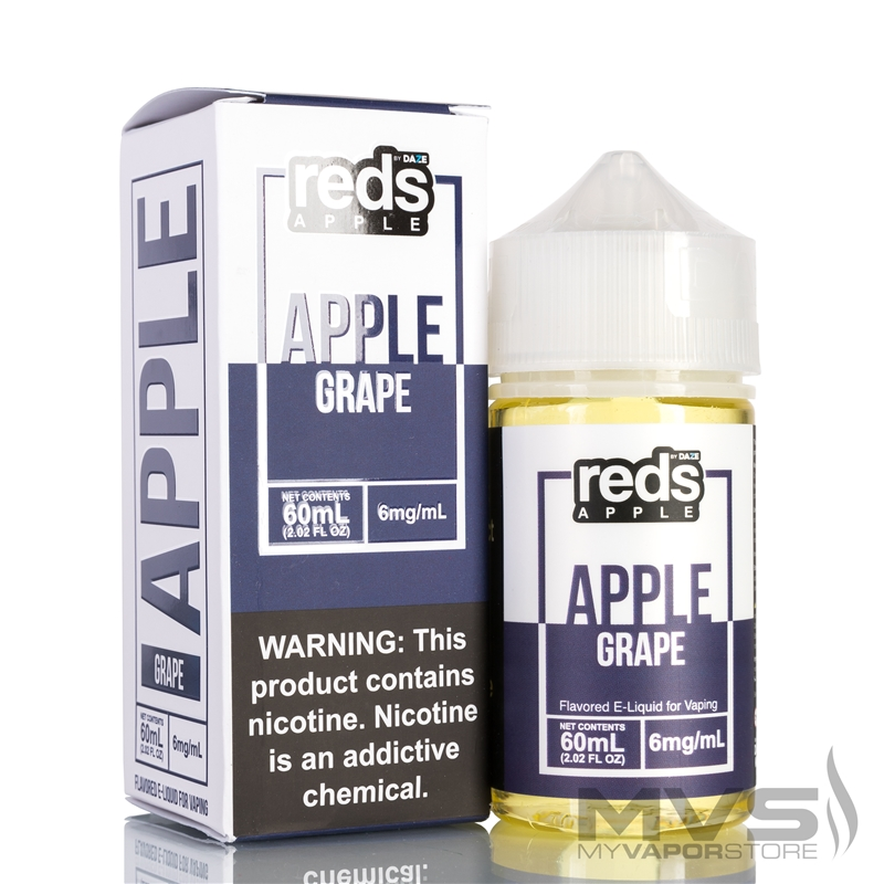 Grape Reds Apple Ejuice by 7 Daze - 60ml