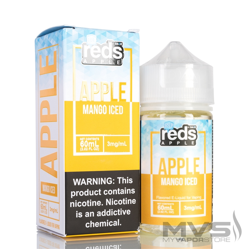 Iced Mango Reds Apple Ejuice by 7 Daze - 60ml