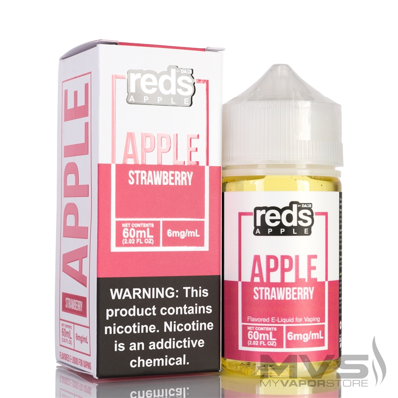 Reds Apple Strawberry Ejuice by 7 Daze - 60ml