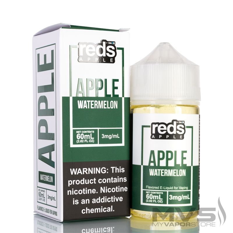 Watermelon Reds Apple Ejuice by 7 Daze - 60ml