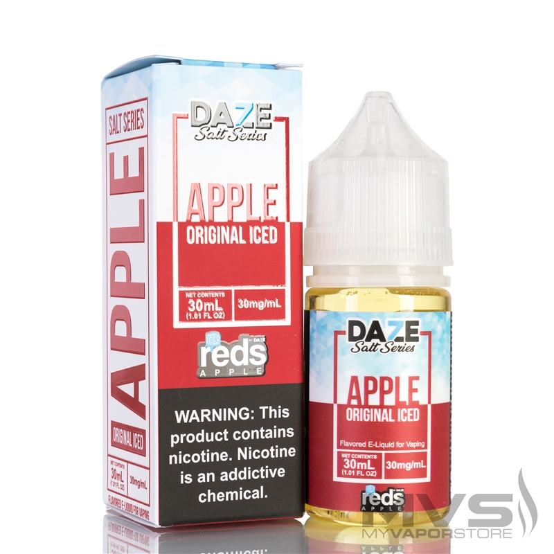 Reds Apple Iced by 7 Daze Salt Series EJuice