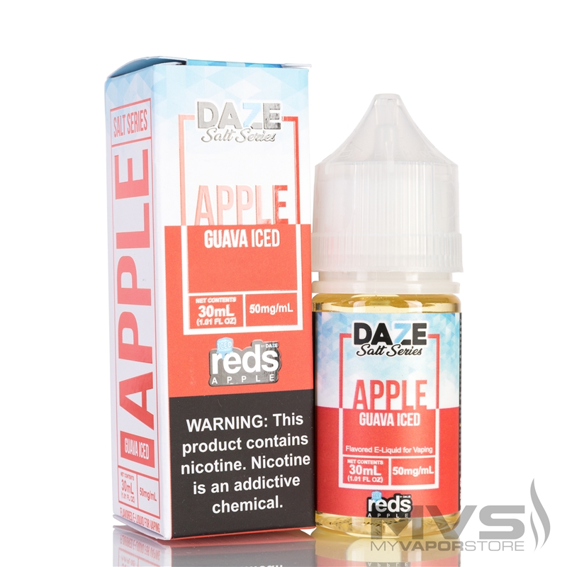 Reds Apple Guava Iced by 7 Daze Salt Series EJuice