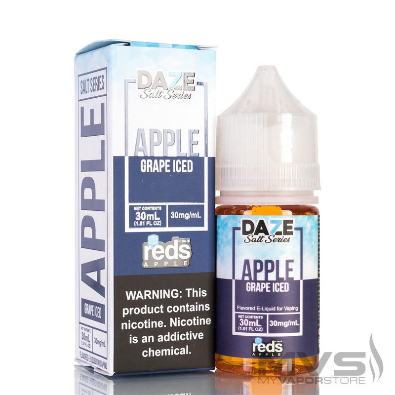 Reds Apple Iced Grape by 7 Daze Salt Series EJuice