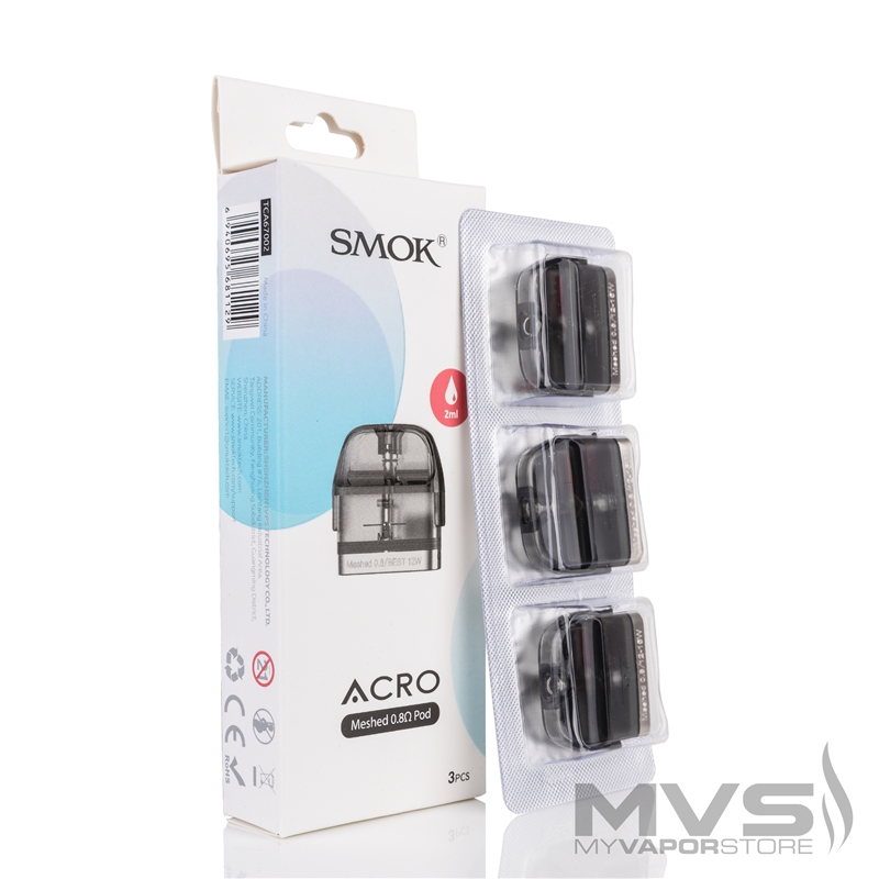 SMOK Acro Pod Cartridge - Pack of 3