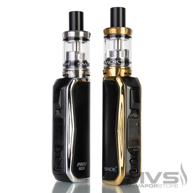 SMOK Priv N19 with Vape Pen Nord 19 Tank Starter Kit