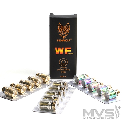 Snowwolf Wolf WF Replacement Coils