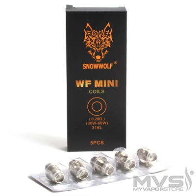 Snowwolf Wolf Mini WF Replacement Coils
