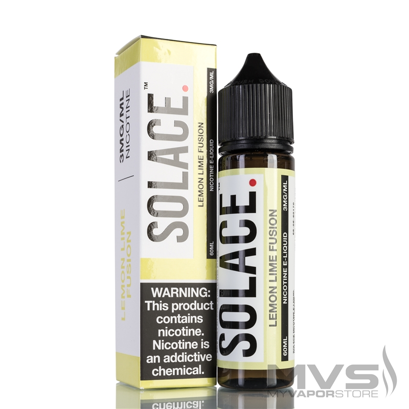 Lemon Lime Fusion by Solace Vapor EJuice