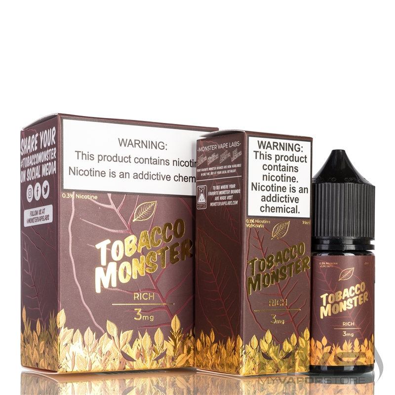 Rich by Tobacco Monster eJuice