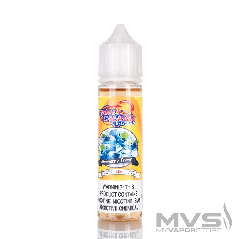 Blueberry Frost High Caliber Eliquid