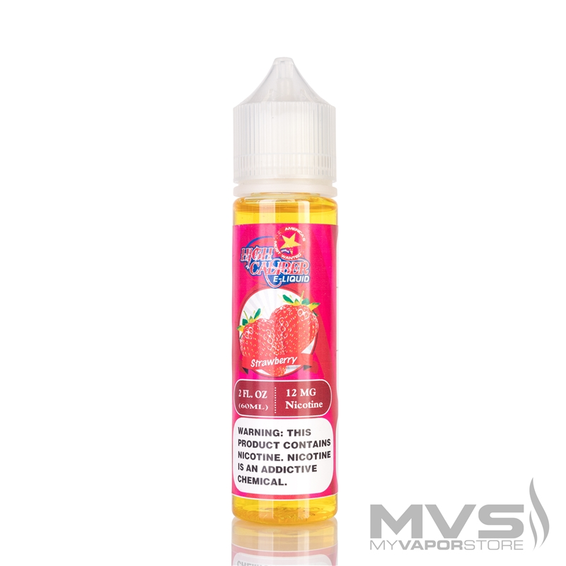 Strawberry High Caliber Eliquid
