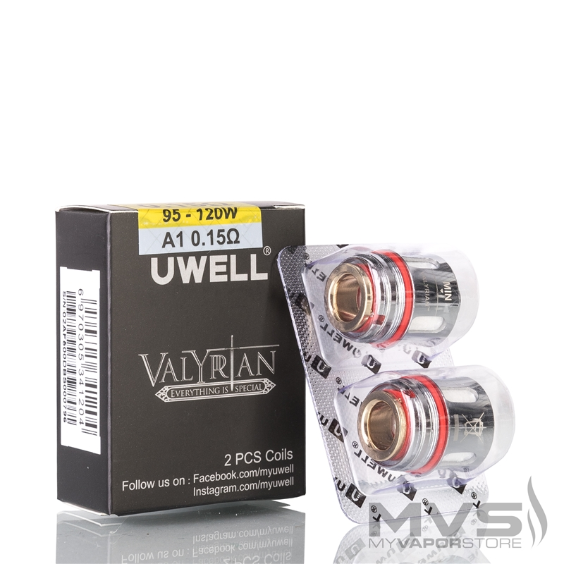 Uwell Valyrian Atomizer Head - Pack of 2