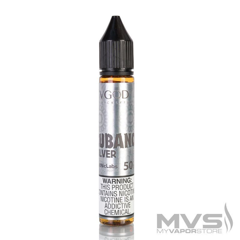 Cubano Silver by VGOD SaltNic EJuice