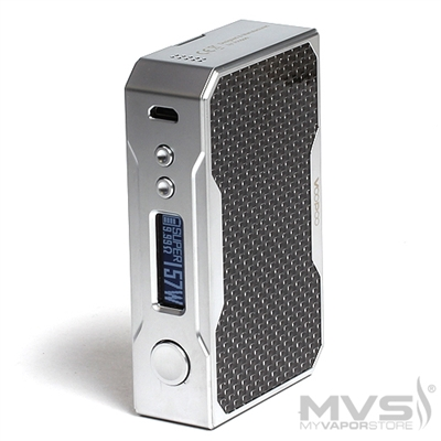 Voo Poo DRAG TC Mod - Black and Silver