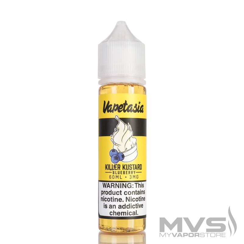 Blueberry Killer Kustard by Vapetasia eJuice