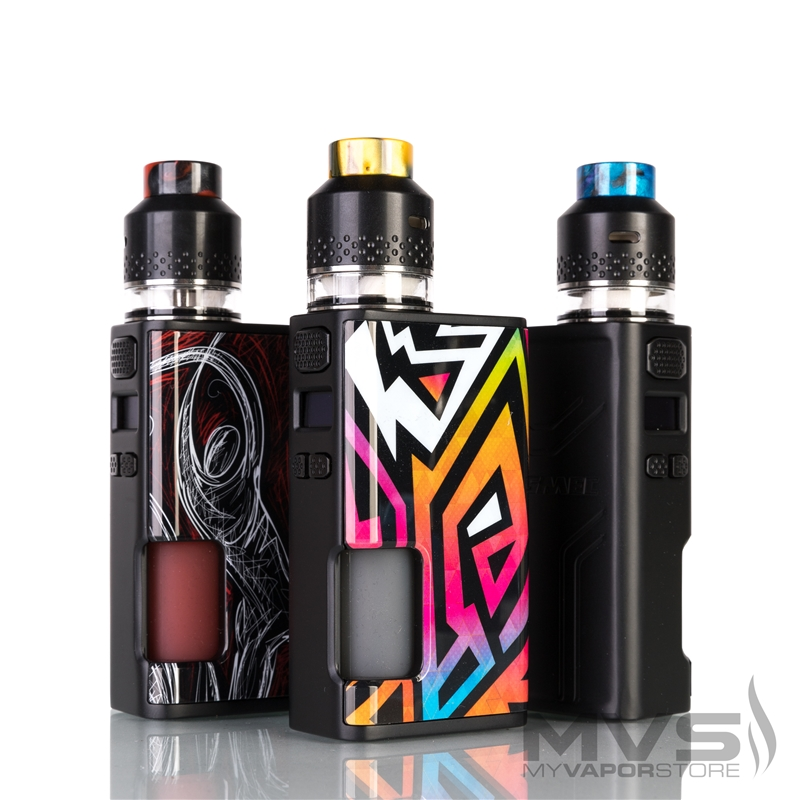 Wismec Luxotic Surface with Kestrel Squonk Kit