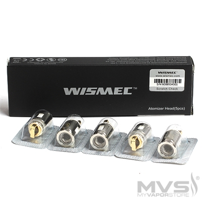 Wismec Elabo Coil Atomizer Head - Pack of 5