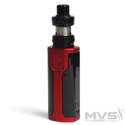 Wismec Sinuous P80 TC Kit by Sinuous Designs - Red