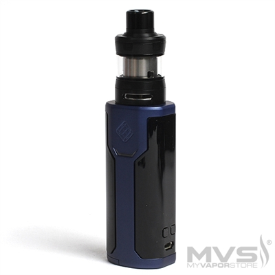 Wismec Sinuous P80 TC Kit by Sinuous Designs - Blue