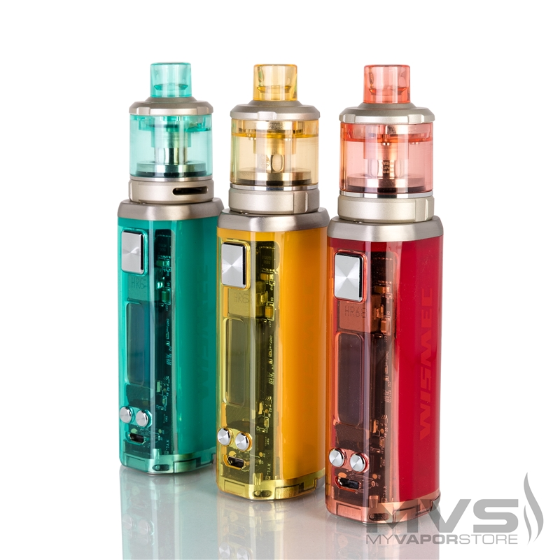 Wismec Sinuous V80 with Amor NSE Starter Kit