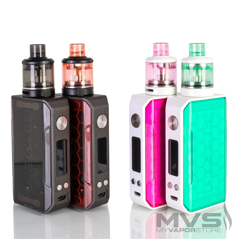 Wismec Sinuous V200 with Amor NSE Starter Kit
