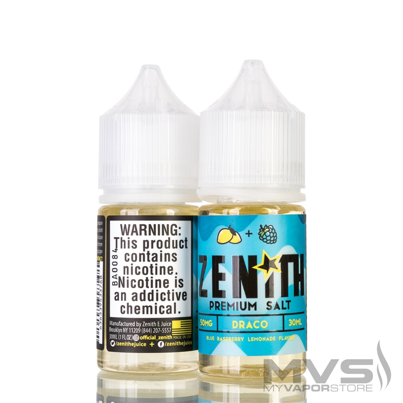 Draco by Zenith E-Juice Salt