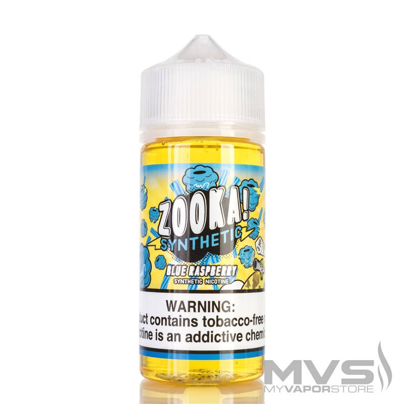 Blue Raspberry by Zooka Vape - 100ml