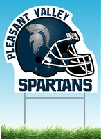 Spartan Football Yard sign
