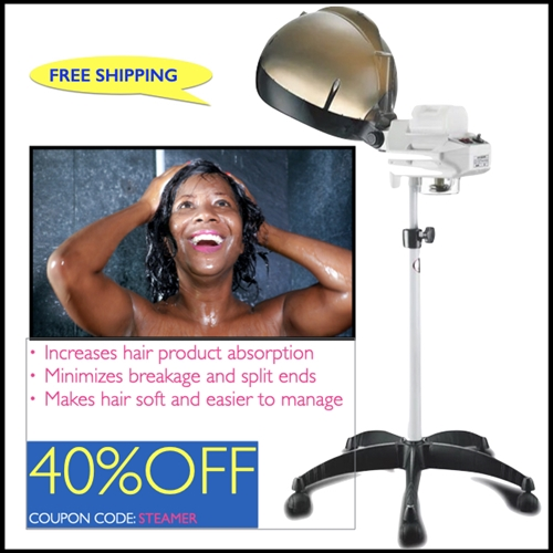 Professional Quality Hair Steamer (FREE product up to $15 value)