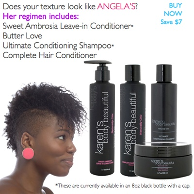 Angela's Regimen  $55- Save $7