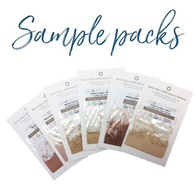 Sample Pack - Eco Minerals Foundation (Flawless range)