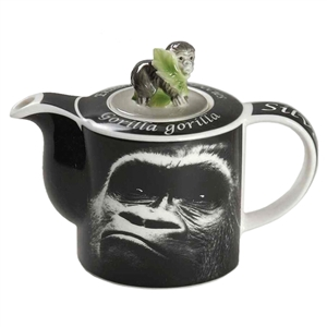 """Gorilla"" Endangered Species Teapot (Limited Edition)"