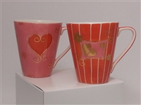"""GIVING HEARTS"" - TEA MUG (Set of 2)"