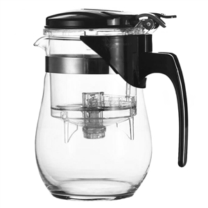 GUNG FU 2-STAGE GLASS TEA BREWER