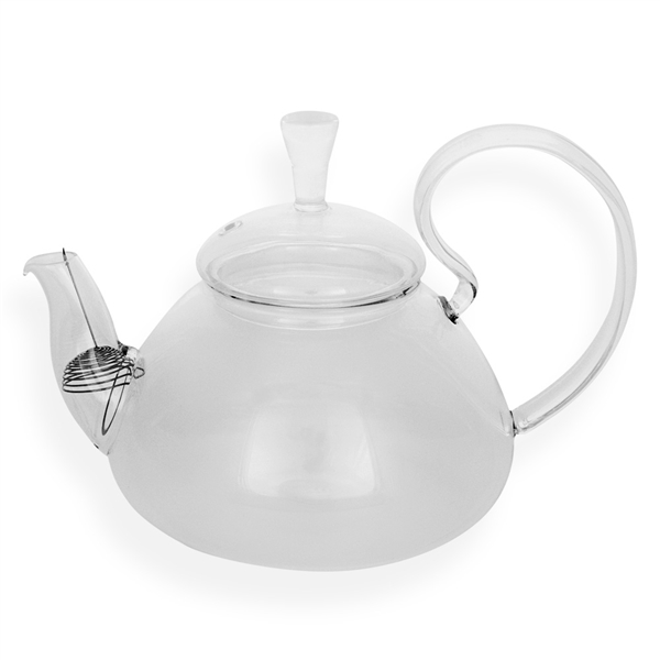 Glass Loose-Leaf Flowering Teapot Kettle | TeaVantage | Teamaking