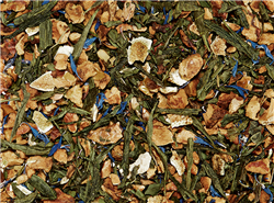 Apple Mint Delight - Organic Japanese Sencha Caff Loose-Leaf Tea