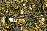 Green Japanese Sencha Earl Grey Caff Loose-Leaf Tea
