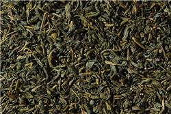 China Chun Mee Organic Green Caff Loose-Leaf Tea