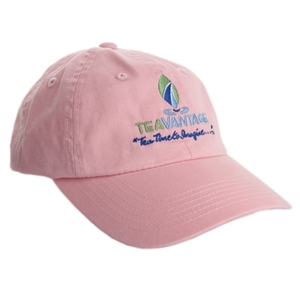 Ladies Cotton Twill Cap - Soft Pink