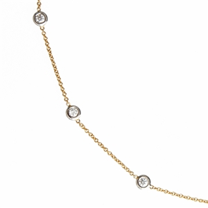 Diamonds By The Inch Versa Chain .70ct 18k Gold