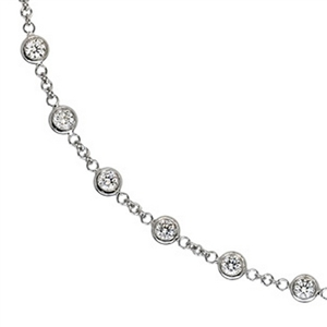 5.20ct Diamond Necklace in 18k